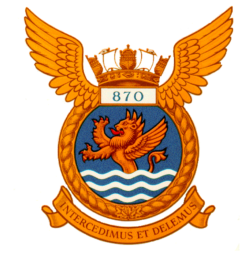 870 Fighter Squadron Badge