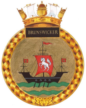 HMCS Brunswicker Badge