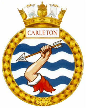 HMCS Carleton Badge