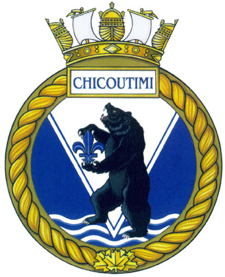HMCS Chicoutimi Badge