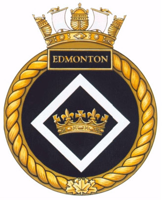 HMCS Edmonton Badge