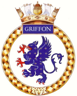 HMCS Griffon Badge