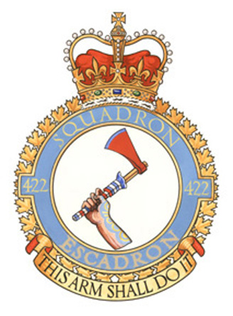 422 Tactical Helicopter Squadron Badge