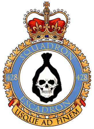 428 All Weather (Fighter) Squadron Badge