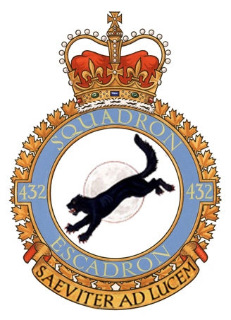 432 All Weather Fighter Squadron Badge