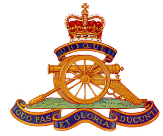 The Royal Regiment of Canadian Artillery Badge