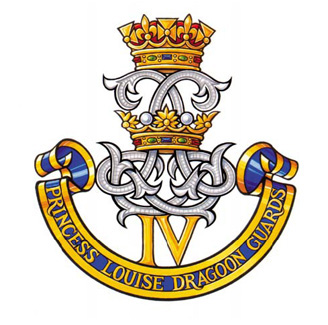 INSIGNE DU 4TH PRINCESS LOUISE DRAGOON GUARDS