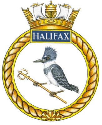 HMCS Halifax Badge
