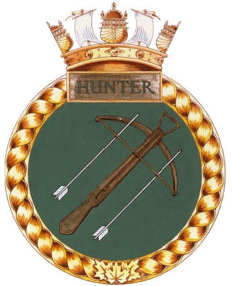 HMCS Hunter Badge