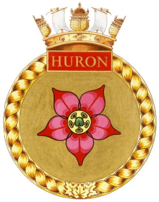 HMCS Huron Badge