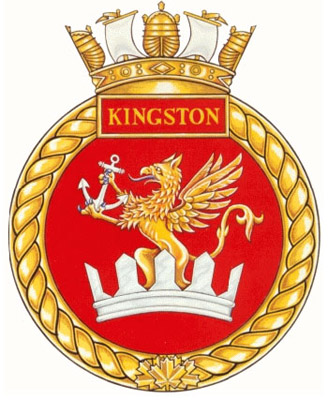 HMCS Kingston Badge
