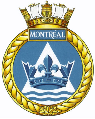 HMCS Montr�al Badge