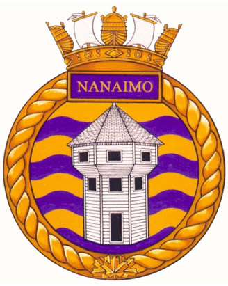 HMCS Nanaimo Badge