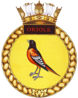 HMCS Oriole Badge