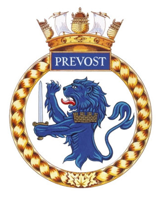 HMCS Prevost Badge
