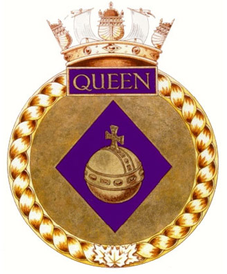 HMCS Queen Badge