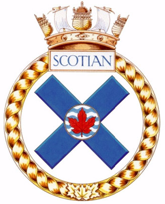 HMCS Scotian Badge