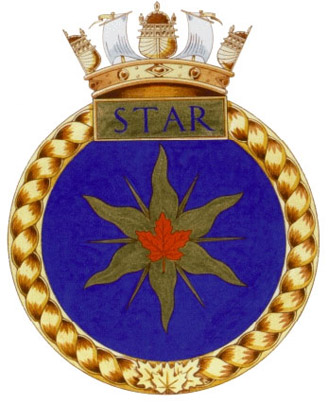 HMCS Star Badge