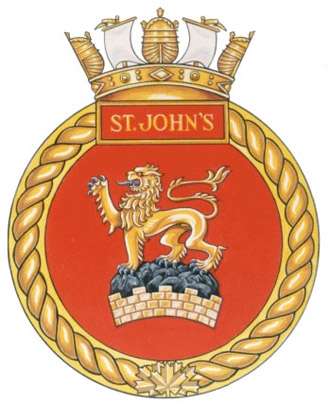HMCS St. John's Badge