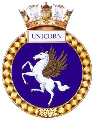 HMCS Unicorn Badge