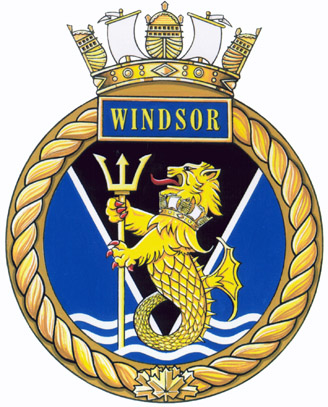 HMCS Windsor Badge