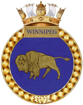 HMCS Winnipeg Badge