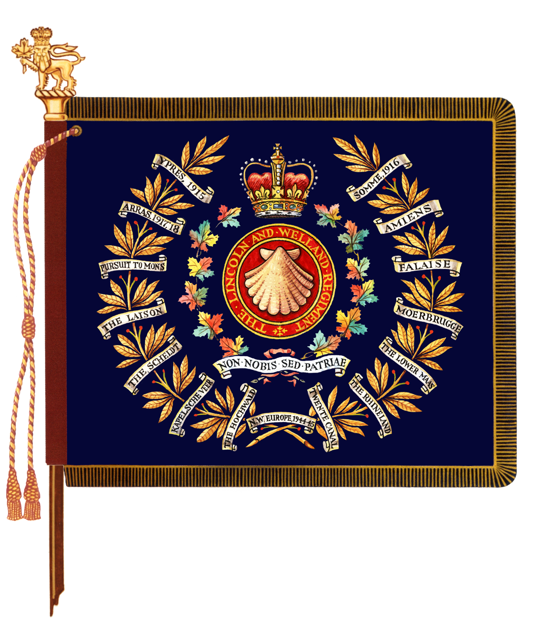 The Lincoln and Welland Regiment