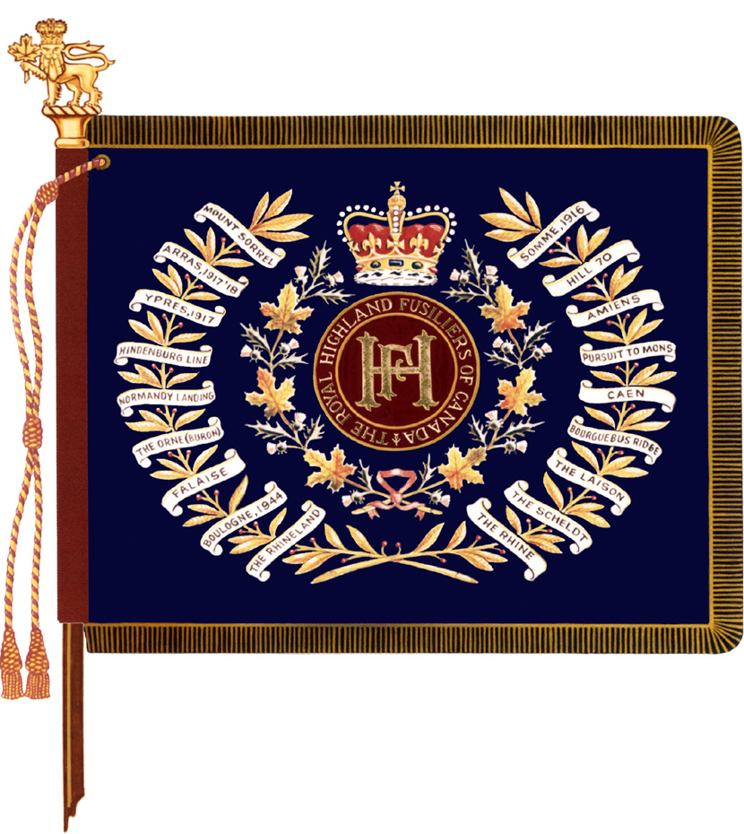 The Royal Highland Fusiliers of Canada Colour