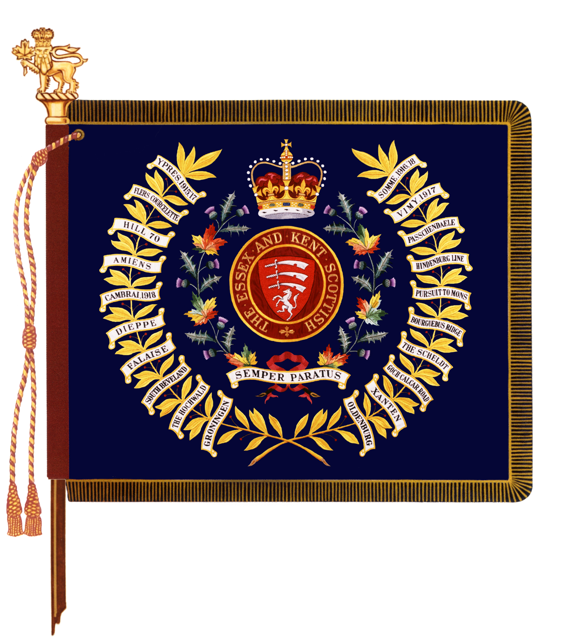The Essex & Kent Scottish Regiment