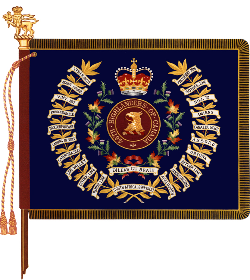 48th Highlanders of Canada Colour