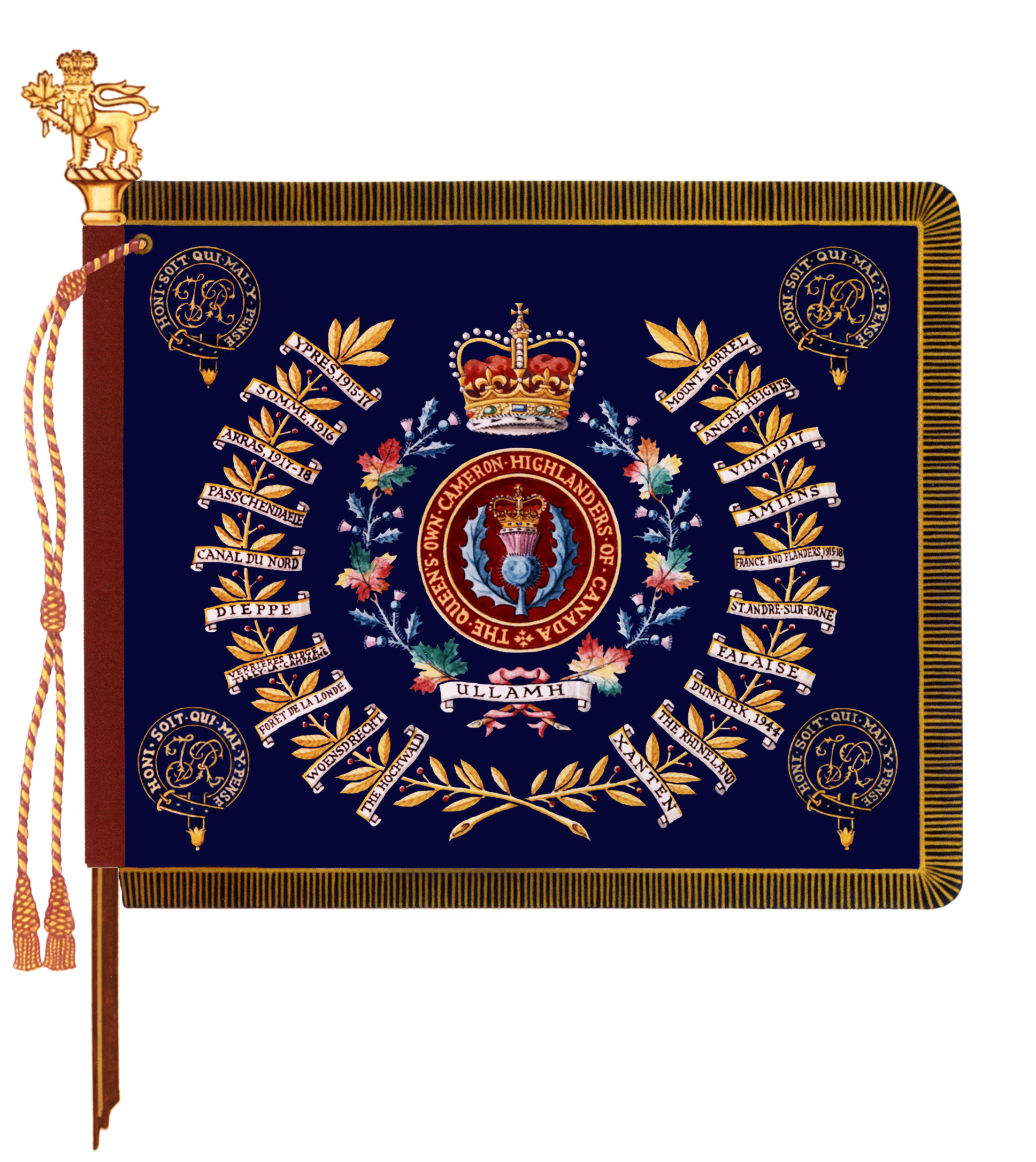 Queen�s Own Cameron Highlanders of Canada