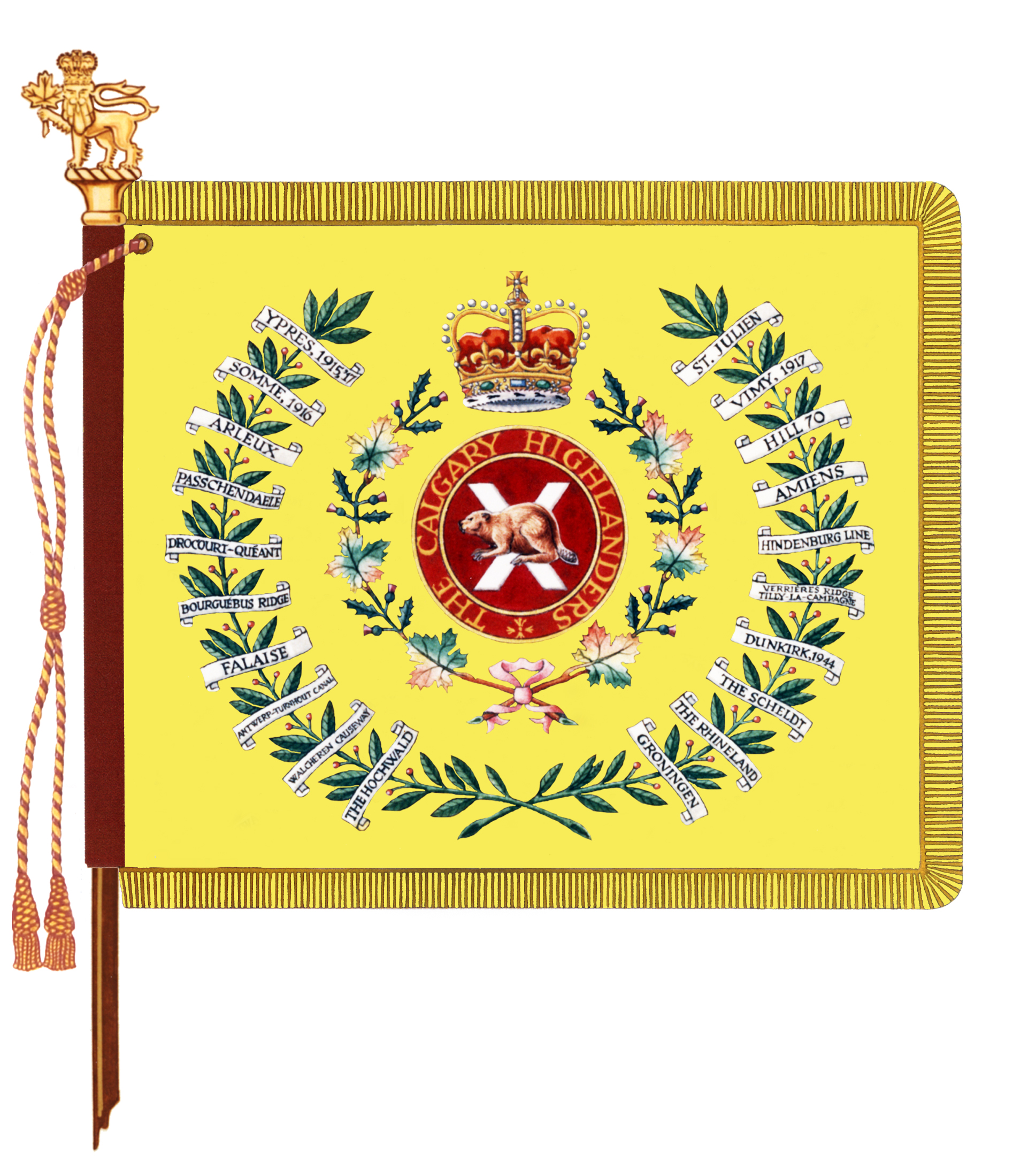 The Calgary Highlanders