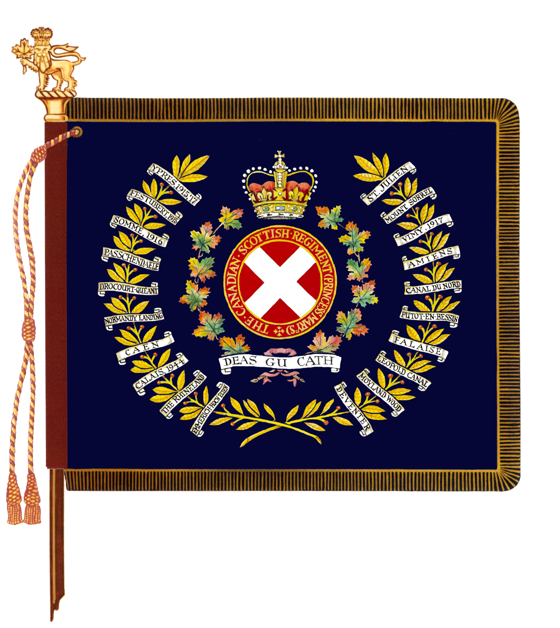 The Canadian Scottish Regiment (Princess Mary�s)