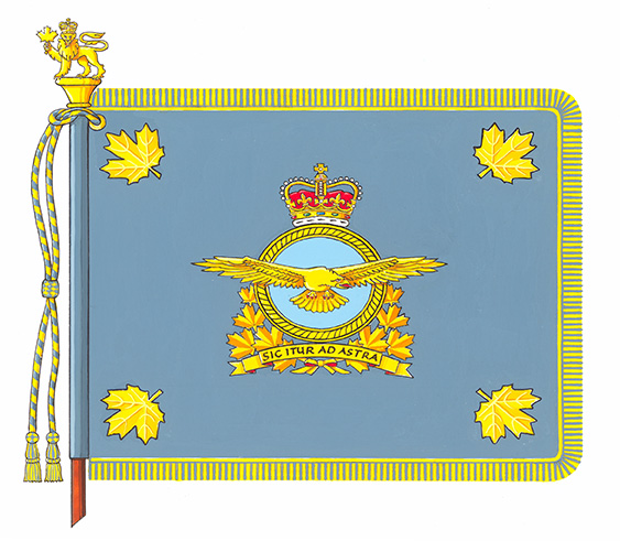 Royal Canadian Air Force Command Colours