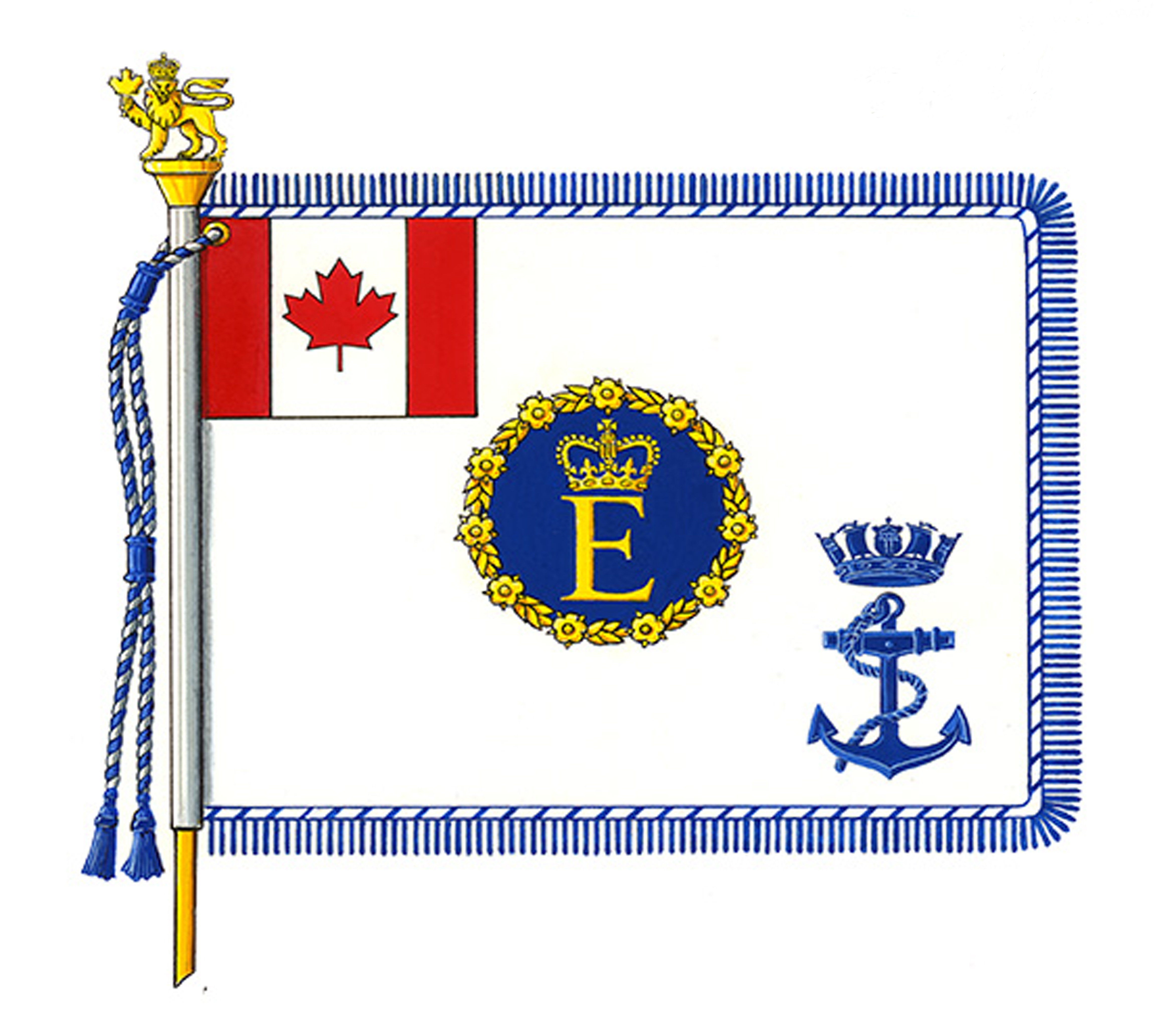 Royal Canadian Navy Command Colours