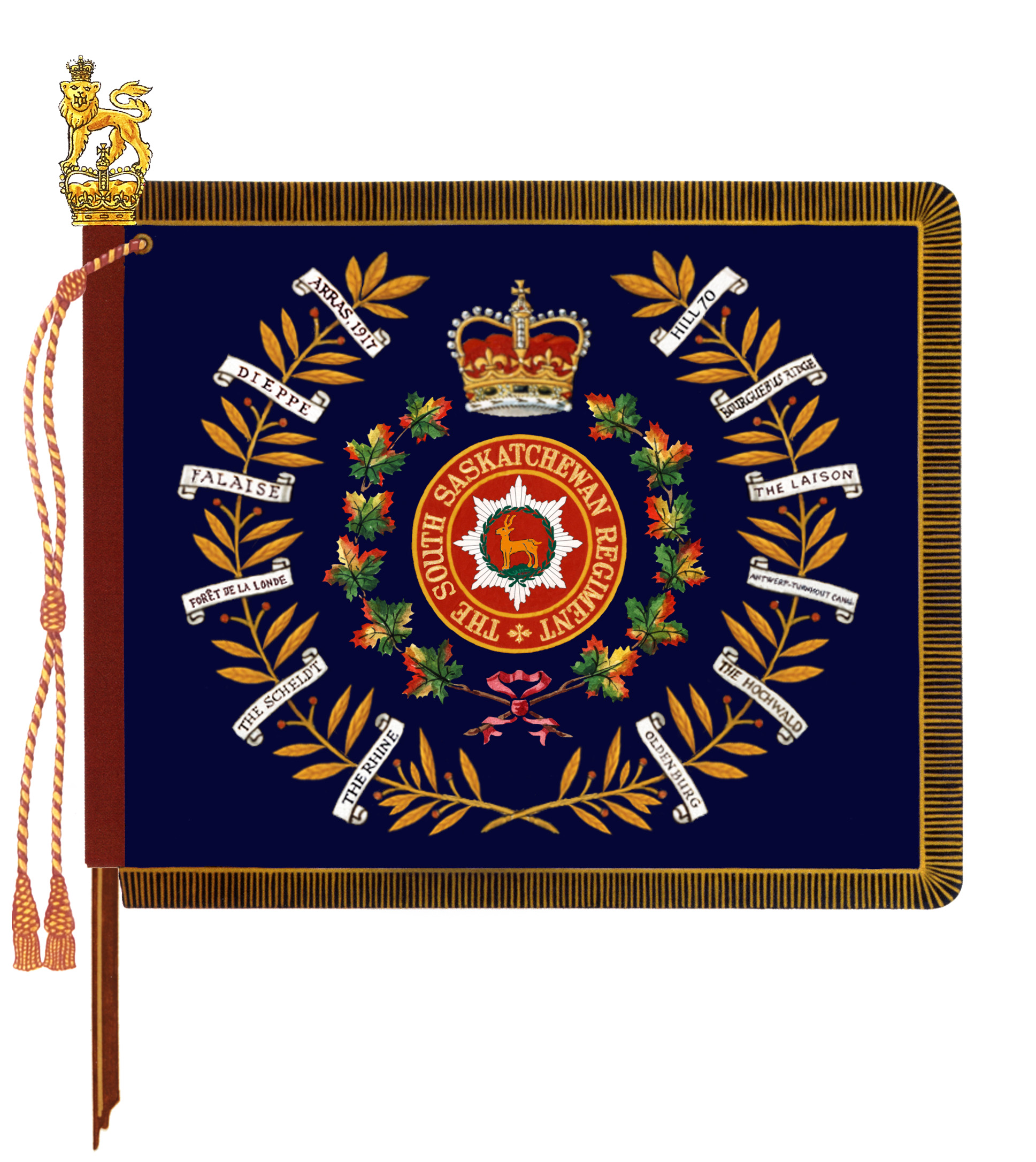 The South Saskatchewan Regiment