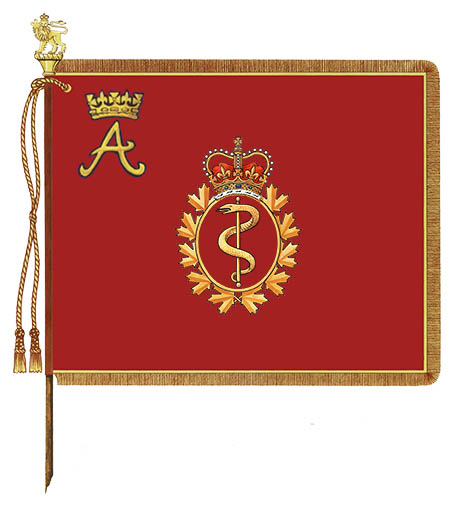 Royal Canadian Medical Service Royal Banner