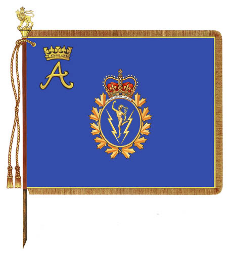 Communications and Electronics Branch Royal Banner