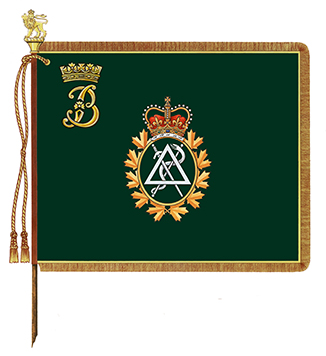 The Duchess of Gloucester's Banner for the Royal Canadian Dental Corps